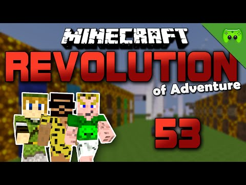 MINECRAFT Adventure Map # 53 - Revolution of Adventure «» Let's Play Minecraft Together | HD