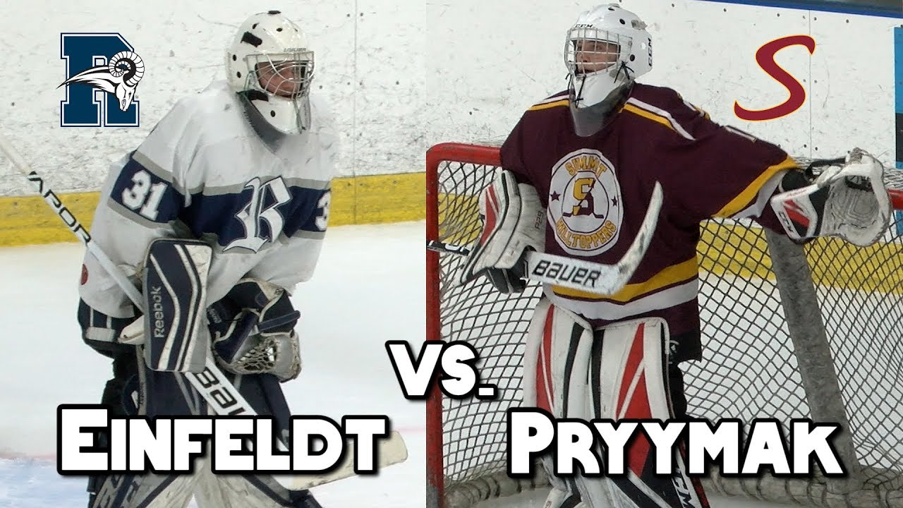 Summit 0 Randolph 0 | HS Hockey | Nikita Pryymak 39 Save Shutout!