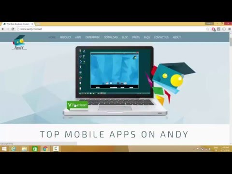 How To Install Andy Android Emulator On Windows 10 / Windows 8
