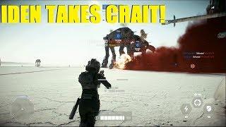 Star Wars Battlefront 2 - Iden Versio takes Crait! | Sniper ownage NT242 (Iden Killstreak)