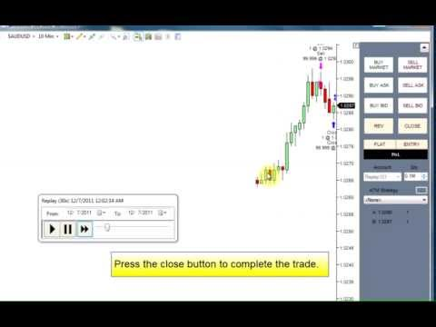 Using NinjaTrader Simulation to Practice Forex Stock Trading