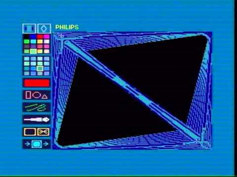 MSX2 Mitsubishi ML-G1  Philips Designer demo