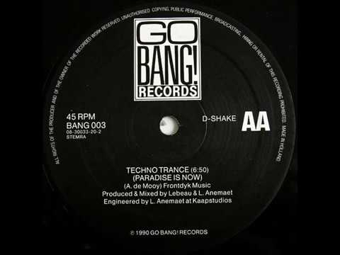 D-Shake - Techno Trance (Paradise Is Now)