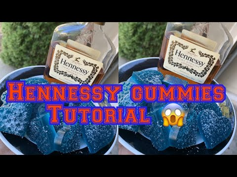 HOW TO MAKE HENNESSY INFUSED GUMMIES