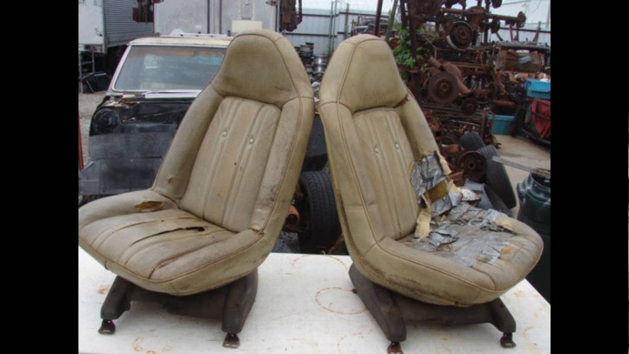 1973 1974 1975 1976 1977 Swivel Bucket Seats 442 Malibu Monte Carlo