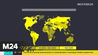 В мире зафиксировано более 9,9 млн случаев COVID-19 - Москва 24