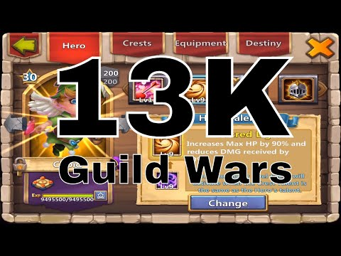 Castle Clash Guild Wars 13K Points