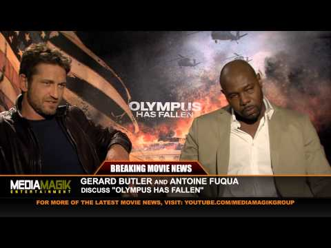 Olympus Has Fallen Interview with Gerard Butler and Antoine Fuqua