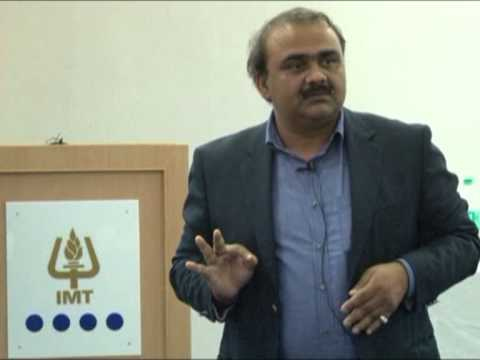 Guest Lecture on Insurance Sector at IMT - Nagpur