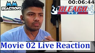 The DiamondDust Rebellion!! - Bleach Anime Movie 02 Live Reaction