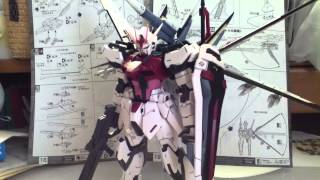 [ガンプラ]製作動画 MBF-02 「ストライクルージュ」 MG partFINAL!