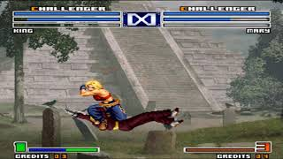 [TAS] Kof 2003 - Blue Mary vs King (Arcade - TAS vs TAS)