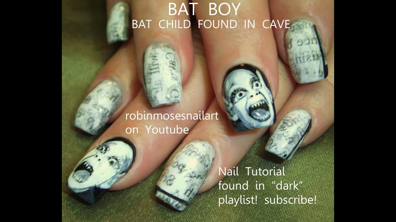 Halloween Nail Art Designs Youtube