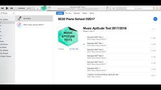 Music Aptitude Test Section 2 Melody Youtube