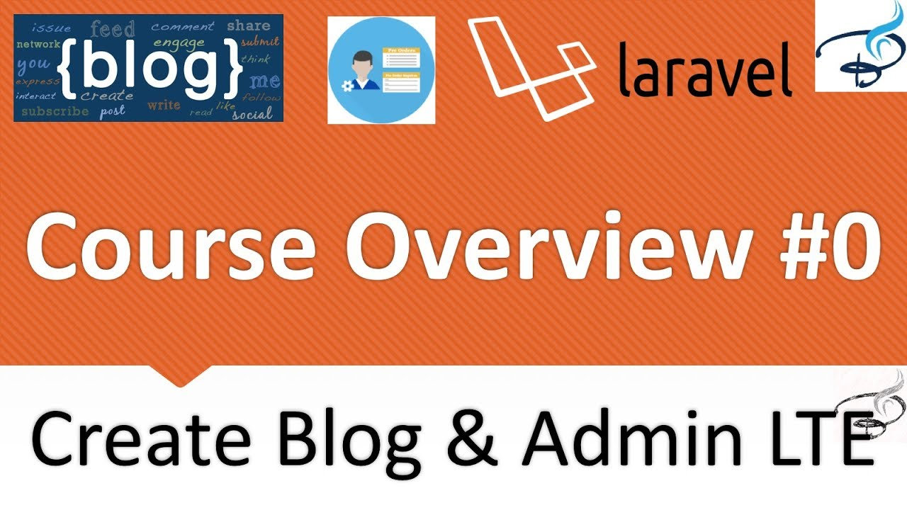 Laravel - Create Blog and Admin Panel | Introduction to Course #0