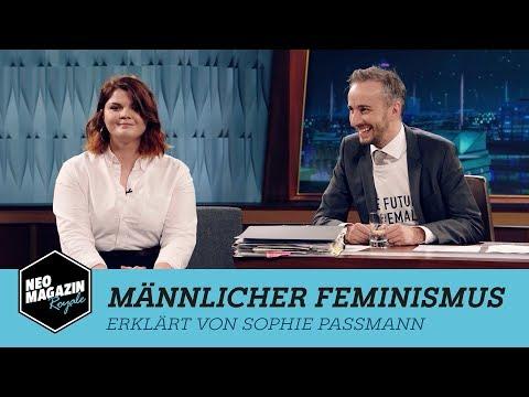 Sophie Passmann erklärt männlichen Feminismus   NEO MAGAZIN ROYALE mit Jan Böhmermann - ZDFneo
