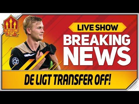 De Ligt Transfer Dream Over! New Star Incoming! Man Utd Transfer News LIVE