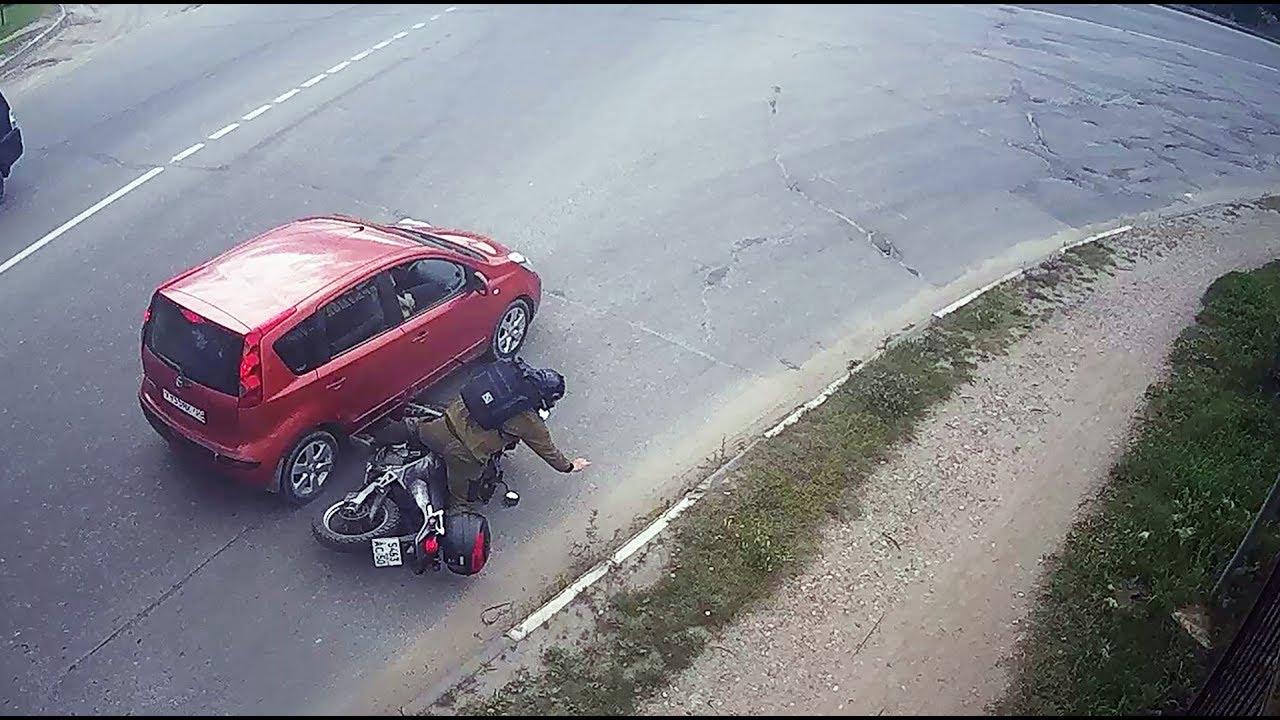 ДТП в Серпухове. Столкнулся с мотоциклистом... 25 июля 2017г.