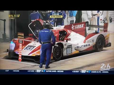 Nick de Bruijn Le Mans Eurasia lmp2 18-6-16 RTL7 interview