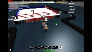 Roblox Raw VS Smackdown 2011