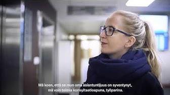Uramalliohjelma - Sosiaalityöntekijä Sara Nuotio