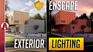 enscape exterior lighting tips