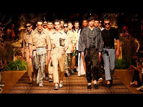 Dolce&Gabbana Men's Spring Summer 2020 #DGSicilianTropical Fashion Show