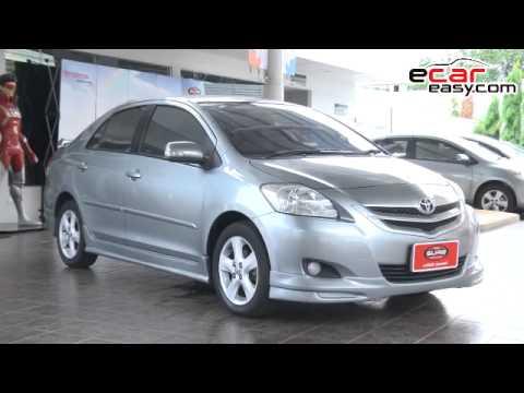 Toyota Vios 1.5 E ปี 2008 เกียร์ออโต้