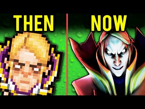 History Evolution Of Dota 2 ( Warcraft Defense of the Ancients 2005 - 2018 ) NEW!