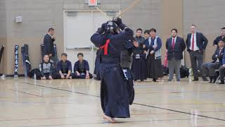 Kendo 2018 Mori Hai Tournament 3-4Dan Division Finals