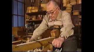 木曽奈良井宿 伝統工芸士 土川昇一の曲物づくり