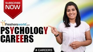 CAREERS IN PSYCHOLOGY. Go through the career opportunities of Psych...