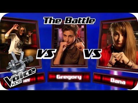 Labrinth - Beneath Your Beautiful (Dana, Aitziber, Gregory) | The Voice Kids 2013 | Battle