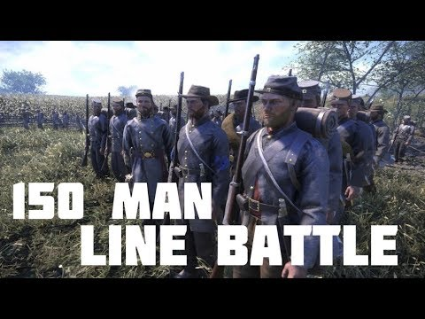 "War of Rights - ""150 Man Line Battle"""