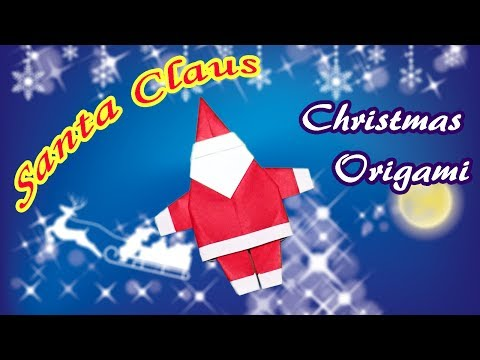 Christmas Origami Santa Claus | How to Make a Paper Santa Claus DIY