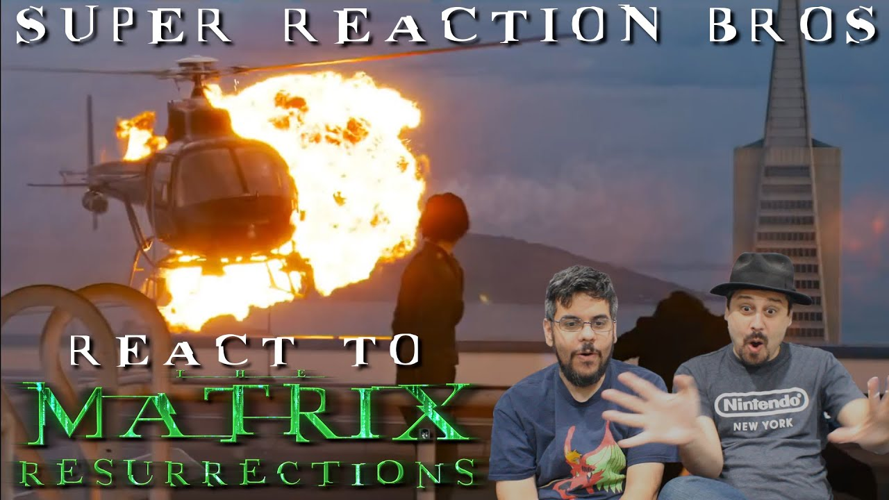 Download SRB Reacts to The Matrix Resurrections | Official Trailer