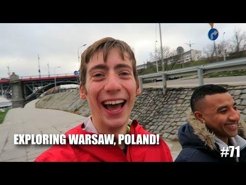 Exploring Warsaw, Poland! | European Bike Tour #71