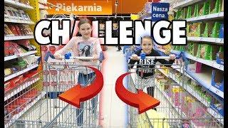 CHALLENGE ZAKUPÓW SPOŻYWCZYCH!!