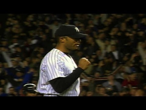 1999 ALCS Gm2: Mo throws scoreless ninth, gets save