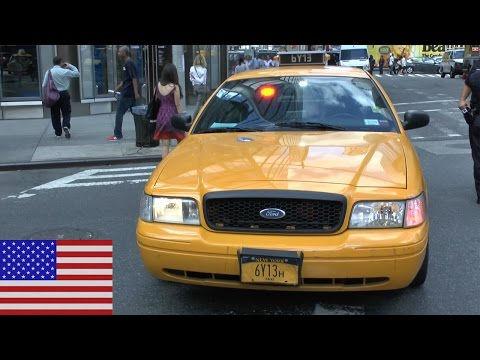[NEW YORK CITY] Undercover NYPD Police Taxi Cab