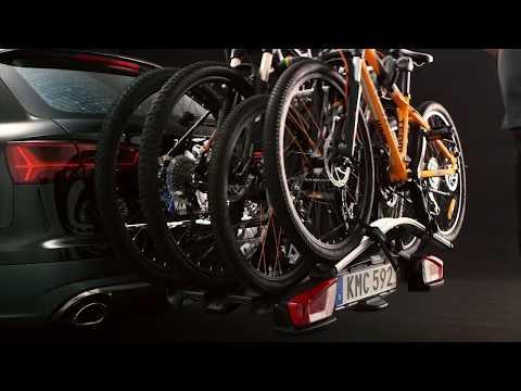 Verbazingwekkend Fahrradträger für die Anhängerkupplung für 4 Fahrräder im Test (2019) BY-56