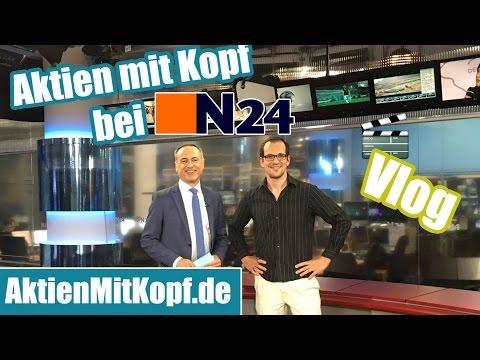 Aktien mit Kopf bei N24 - Berlin Vlog