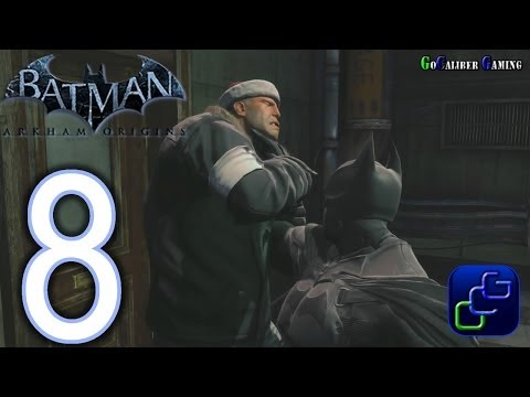 BATMAN Arkham Origins Walkthrough - Part 8 - GCPD Building