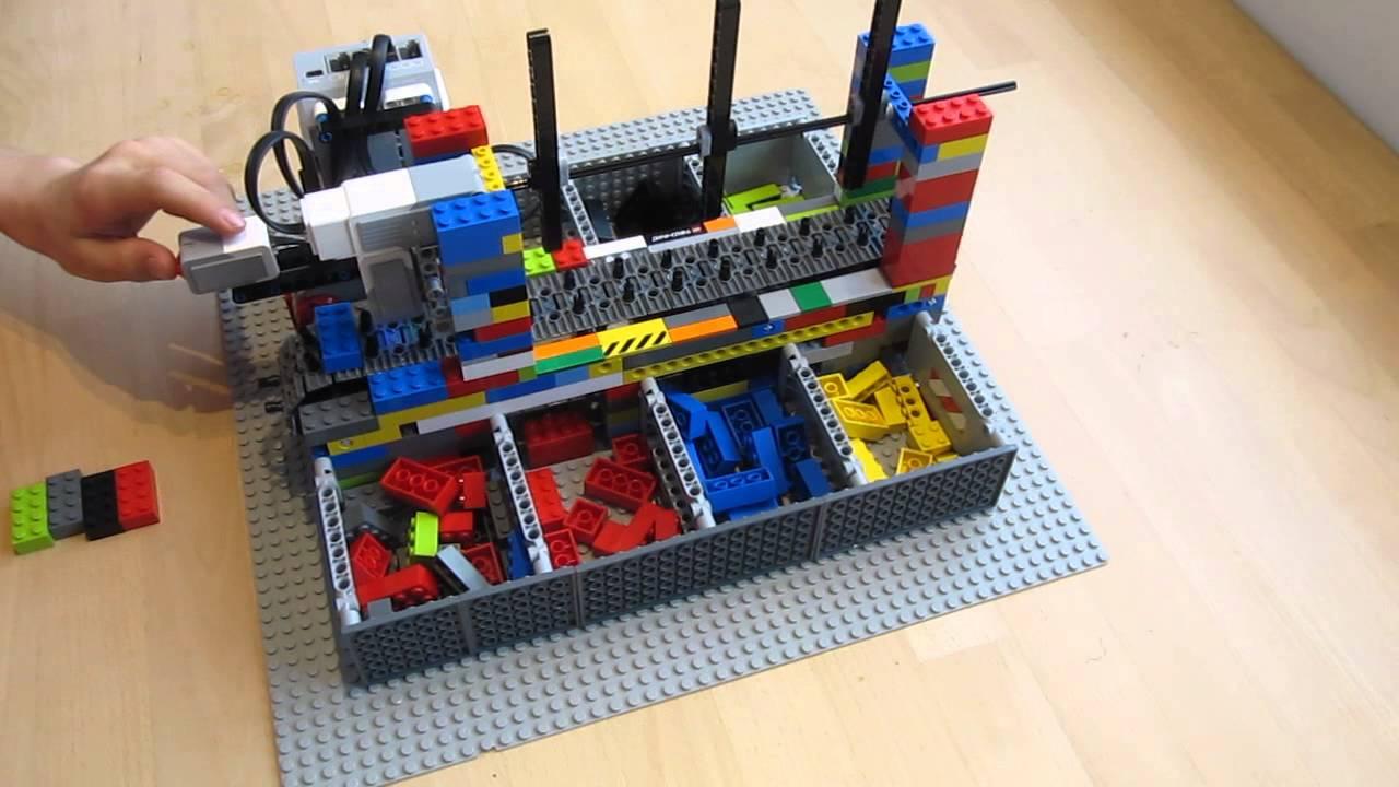 Sortieren von LEGOSteinen  YouTube