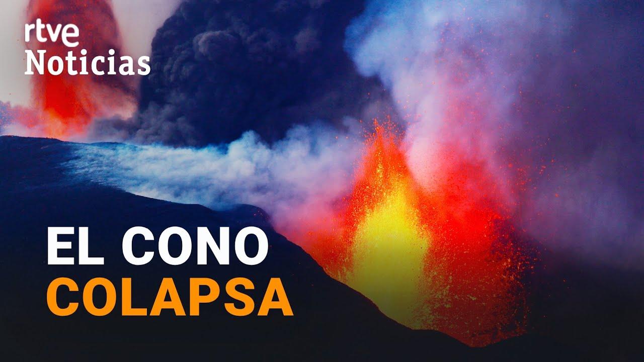 Download LA PALMA: Sucesivos COLAPSOS en el cono del VOLCÁN y los SEÍSMOS se multiplican | RTVE Noticias