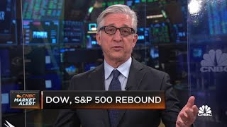Dow and S&P 500 rebound at open while Nasdaq dips lower after higher start