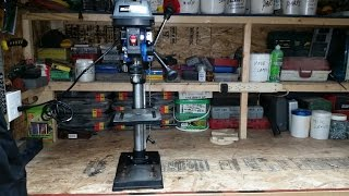Drill Press Setup And A Fun Time