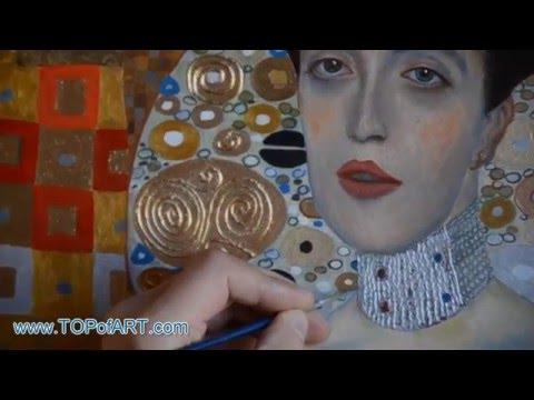 Klimt - Portrait of Adele Bloch-Bauer I | Art Reproduction Oil Painting
