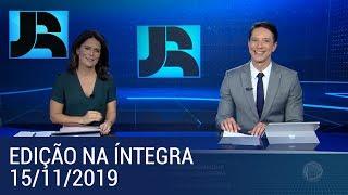 Assista à íntegra do Jornal da Record   15/11/2019