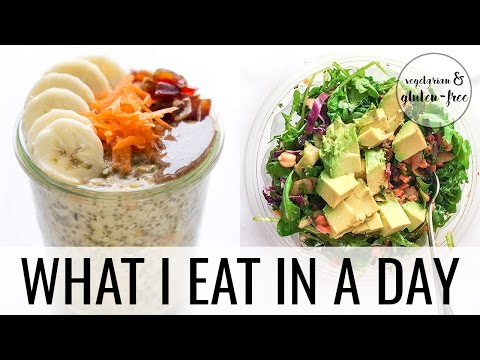 2. WHAT I EAT IN A DAY | Vegetarian + Gluten-Free